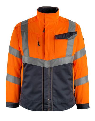 15509-860-14010 Kurtka - pomarańcz hi-vis/ciemny granat