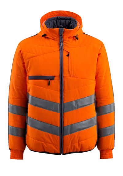 15515-249-14010 Kurtka - pomarańcz hi-vis/ciemny granat