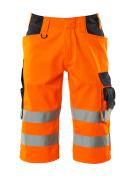 15549-860-14010 Spodenki, długie - pomarańcz hi-vis/ciemny granat