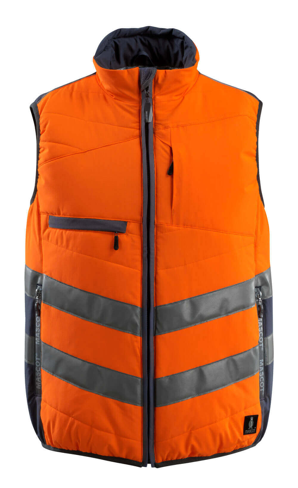 15565-249-14010 Kamizelka zimowa - pomarańcz hi-vis/ciemny granat