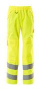 15590-231-14 Spodnie zewnętrzne naciągane z kieszeniami na kolanach - pomarańcz hi-vis