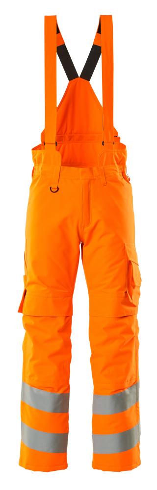 15690-231-14 Spodnie Zimowe - pomarańcz hi-vis
