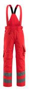 15690-231-222 Spodnie Zimowe - czerwień hi-vis