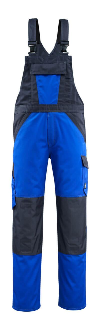 15769-330-11010 Ogrodniczki z kieszeniami na kolanach - niebieski/ciemny granat
