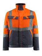 15909-948-14010 Kurtka - pomarańcz hi-vis/ciemny granat