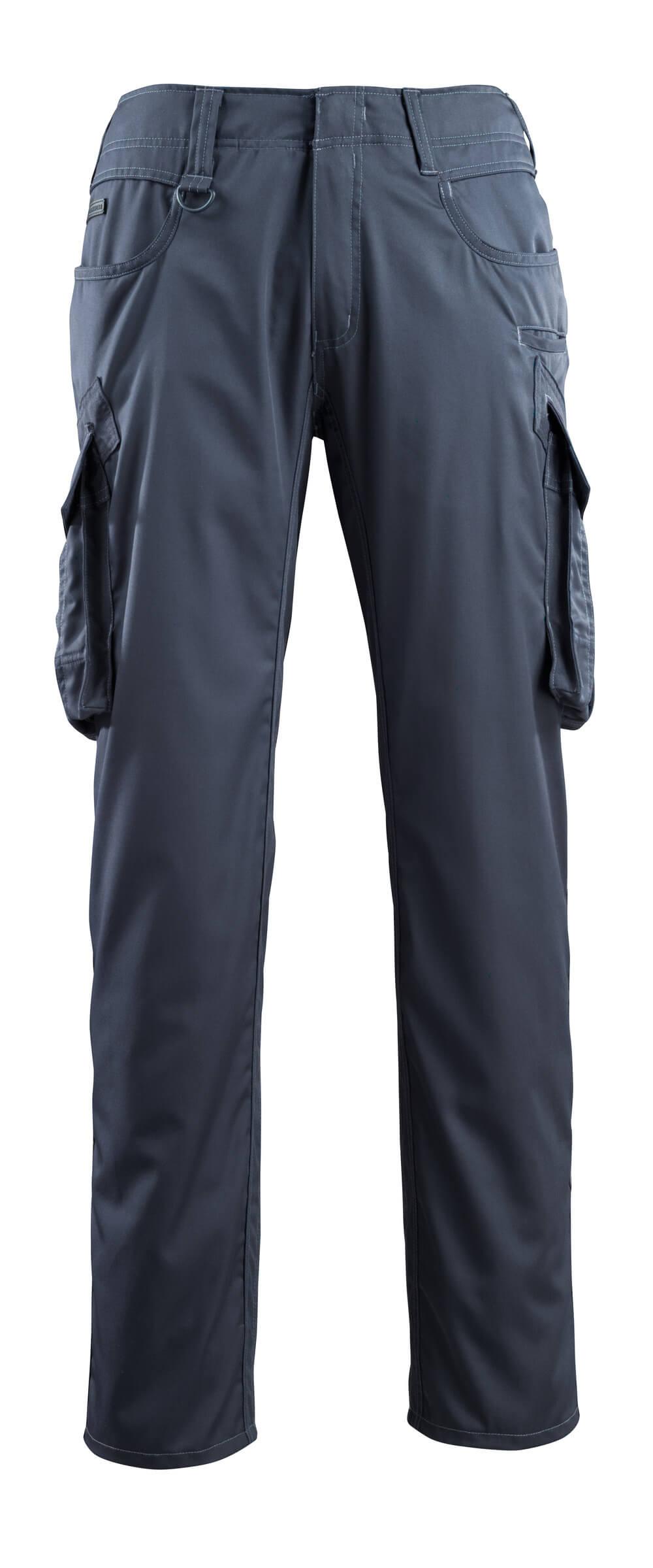 16179-230-010 Spodnie z kieszeniami na udach - ciemny granat