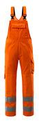 16869-860-14 Ogrodniczki z kieszeniami na kolanach - pomarańcz hi-vis