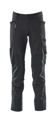 17179-311-010 Spodnie z kieszeniami na kolanach - ciemny granat