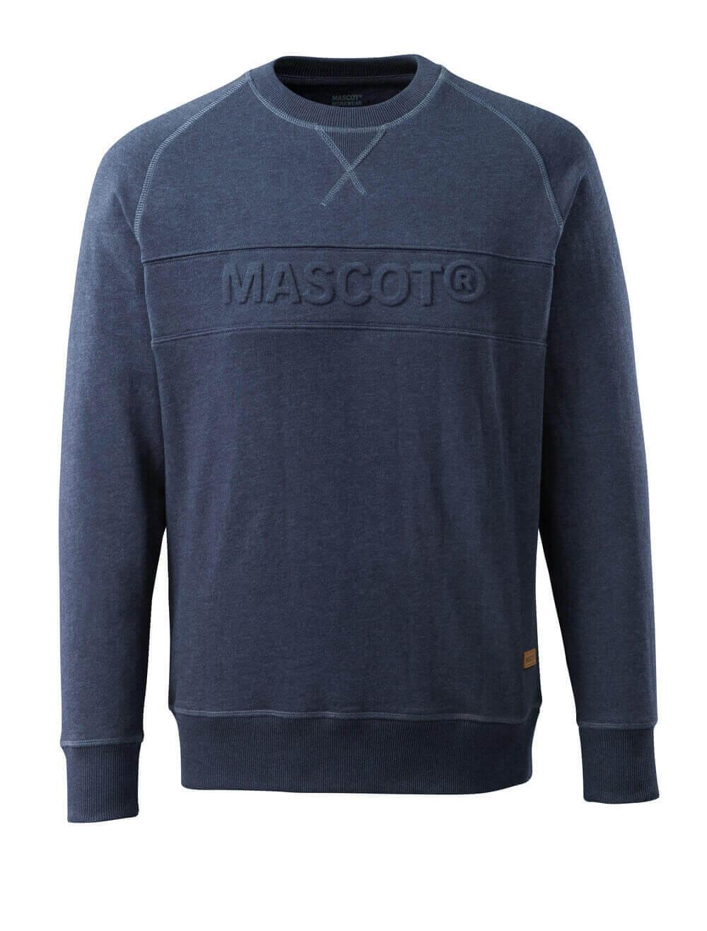 17184-830-66 Sweter - sprany ciemno niebieski denim