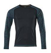 17281-944-010 T-Shirt z długimi rękawami - ciemny granat