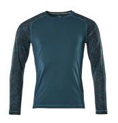 17281-944-44 T-Shirt z długimi rękawami - ciemna petrolowy