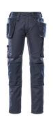17731-442-010 Spodnie z kieszeniami na kolanach i kieszeniami wiszącymi - ciemny granat