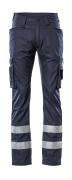 17879-230-010 Spodnie z kieszeniami na udach - ciemny granat