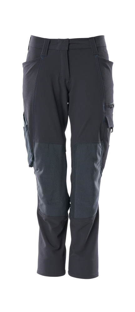 18078-511-010 Spodnie z kieszeniami na kolanach - ciemny granat
