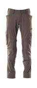 18079-511-18 Spodnie z kieszeniami na kolanach - ciemny antracyt