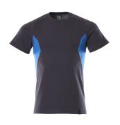 18082-250-01091 T-Shirt - ciemny granat/błękitny