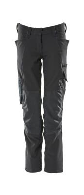 18088-511-010 Spodnie z kieszeniami na kolanach - ciemny granat