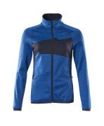 18153-316-91010 Bluza polarowa z zamkiem błyskawicznym - błękitny/ciemny granat