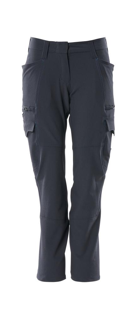 18178-511-010 Spodnie z kieszeniami na udach - ciemny granat
