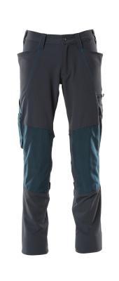 18179-511-010 Spodnie z kieszeniami na kolanach - ciemny granat