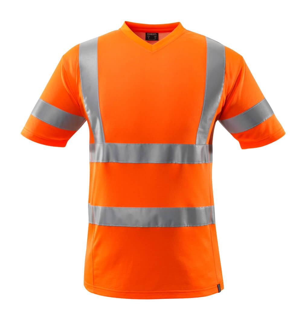 18282-995-14 T-Shirt - pomarańcz hi-vis