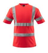 18282-995-222 T-Shirt - czerwień hi-vis