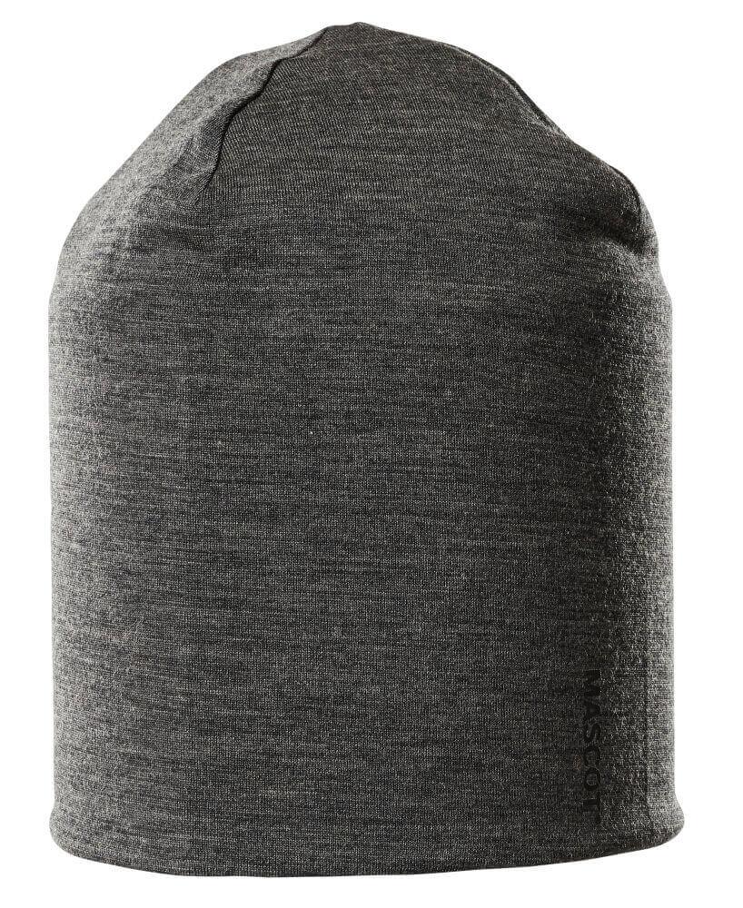 18350-803-189 Czapka - ciemny nakrapiany antracyt