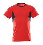 18382-959-20209 T-Shirt - czerwień kubańska/czerń