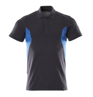 18383-961-01091 Koszulka Polo - ciemny granat/błękitny