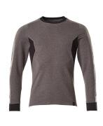 18384-962-1809 Sweter - ciemny antracyt/czerń