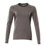 18391-959-1809 T-Shirt, długimi rękawami - ciemny antracyt/czerń