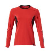 18391-959-20209 T-Shirt, długimi rękawami - czerwień kubańska/czerń