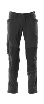 18479-311-010 Spodnie z kieszeniami na kolanach - ciemny granat