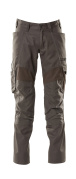 18579-442-18 Spodnie z kieszeniami na kolanach - ciemny antracyt
