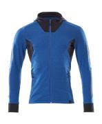 18584-962-91010 Bluza z Kapturem z zamkiem błyskawicznym - błękitny/ciemny granat