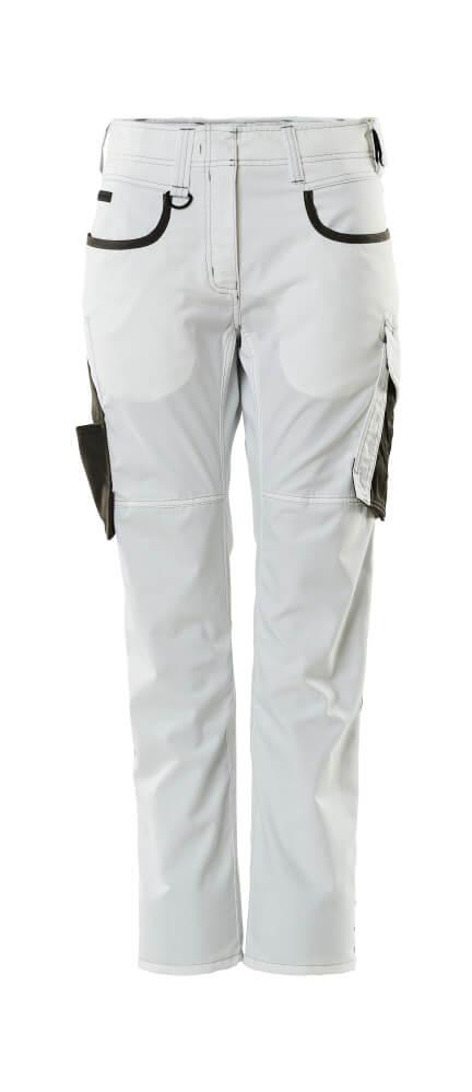 18678-230-0618 Spodnie - biel/ciemny antracyt
