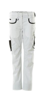 18688-230-0618 Spodnie - biel/ciemny antracyt