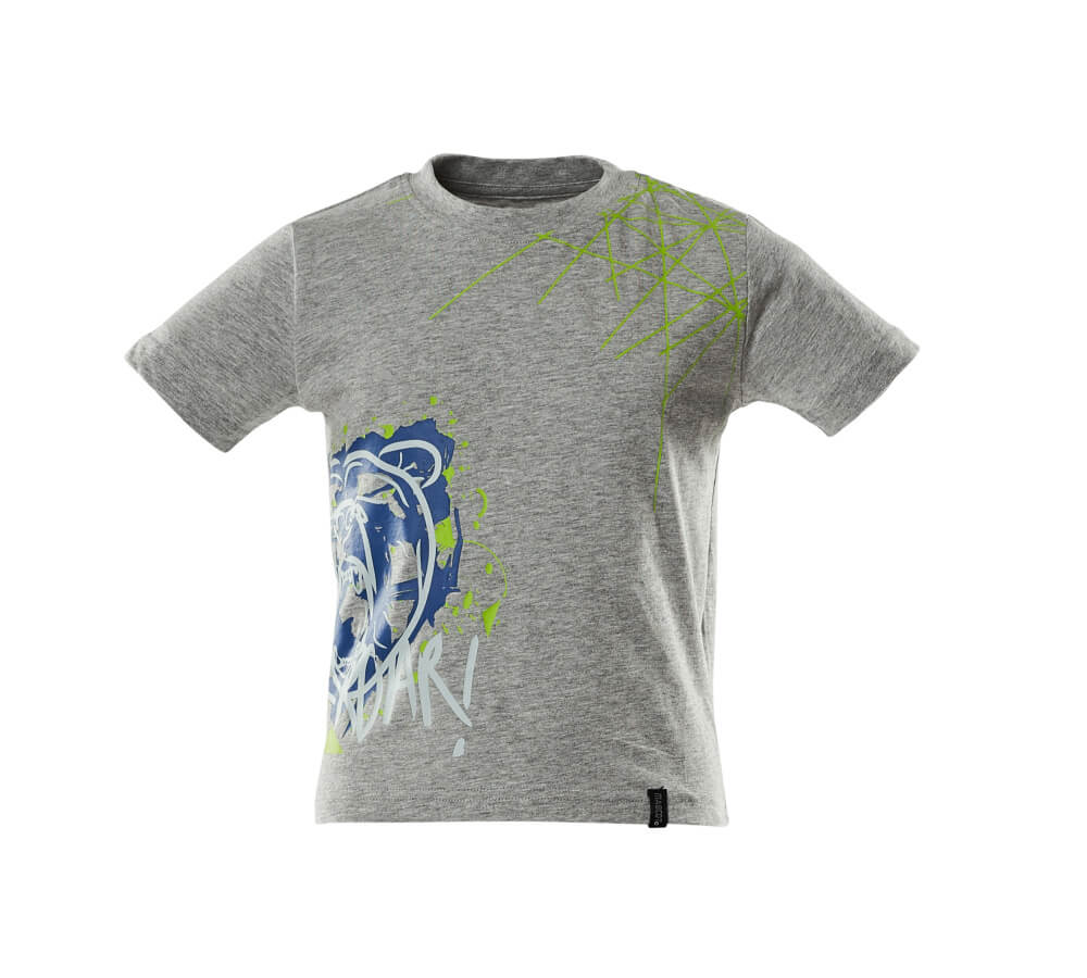 18982-965-08 T-shirt dla dzieci - szary nakrapiany