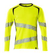 19081-771-14010 T-Shirt z długimi rękawami - pomarańcz hi-vis/ciemny granat