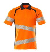 19083-771-14010 Koszulka Polo - pomarańcz hi-vis/ciemny granat