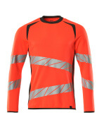 19084-781-14010 Sweter - pomarańcz hi-vis/ciemny granat