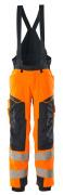 19090-449-14010 Spodnie Zimowe - pomarańcz hi-vis/ciemny granat