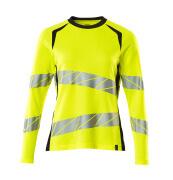 19091-771-14010 T-Shirt z długimi rękawami - pomarańcz hi-vis/ciemny granat