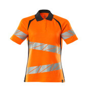 19093-771-14010 Koszulka Polo - pomarańcz hi-vis/ciemny granat