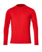 20181-959-202 T-Shirt, długimi rękawami - czerwień kubańska
