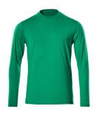 20181-959-333 T-Shirt, długimi rękawami - zielona trawa