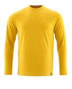 20181-959-70 T-Shirt, długimi rękawami - Żółty curry