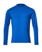 20181-959-91 T-Shirt, długimi rękawami - błękitny