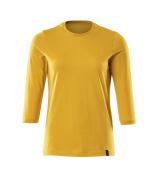 20191-959-70 T-Shirt - Żółty curry