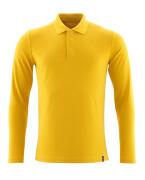 20483-961-70 Koszulka Polo, długimi rękawami - Żółty curry